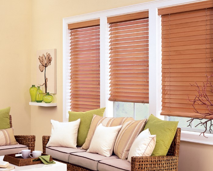 Wood Blinds in Miami Wood Blind Installation