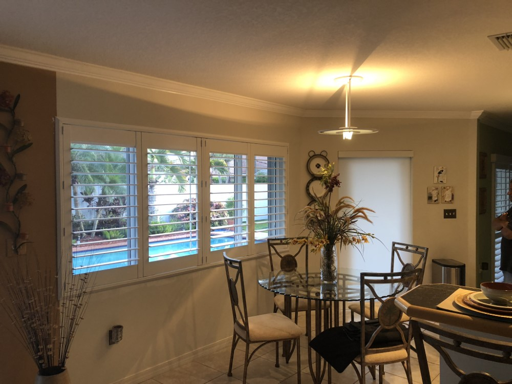 Plantation Shutters And Roller Shades In Miami Fl Blinds